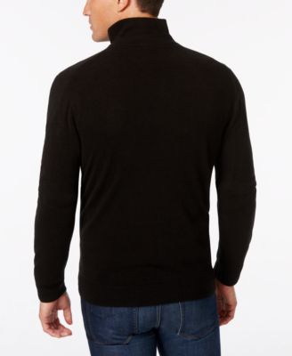 Weatherproof Mens Big and Tall Quarter-Zip Sweater