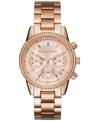 Jan 17, Michael Kors Women's Slim Runway Black Silicone Strap Watch 42mm MK, Only at Macy's - For Her - Jewelry & Watches - Macy's.