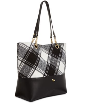 Emma Fox Jutland Plaid Tote