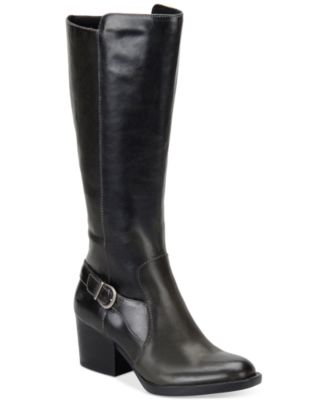 Born Hillman Block Heel Tall Boots