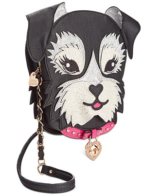 Betsey Johnson Dog Crossbody Handbags Accessories Macy 39 S