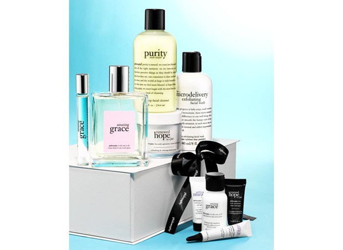 Receive a free 4-piece bonus gift with your $150 philosophy purchase