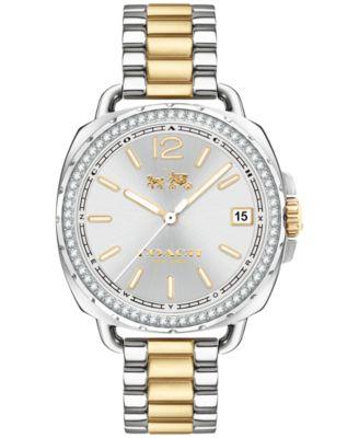 COACH Women's Tatum Two-Tone Stainless Steel Bracelet Watch 34mm 14502591
