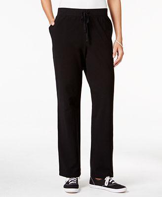 Karen Scott Petite Drawstring Active Pants Only At Macy S