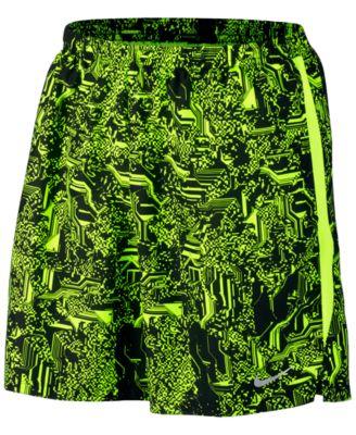 Nike Mens Dry Printed Running Shorts