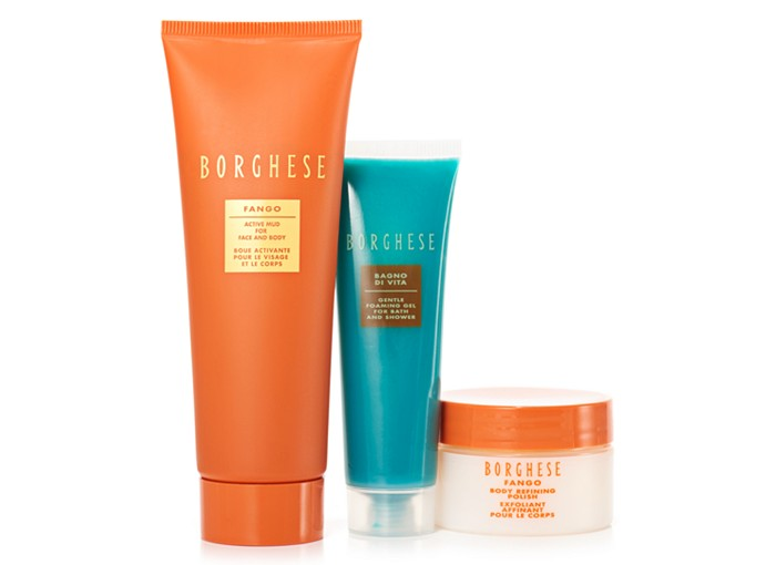 Receive a free 3- piece bonus gift with your $50 Borghese purchase