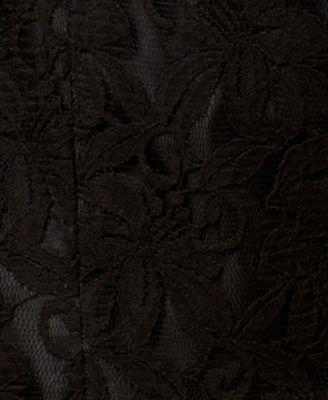 Kasper Lace Open-Front Blazer