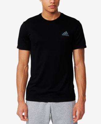 Adidas Originals Adidas Men S V-Neck Climalite T-Shirt In Bright Orange 21a40eac69739