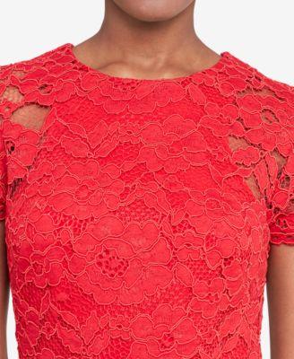 Lauren Ralph Lauren Petite Lace Sheath Dress