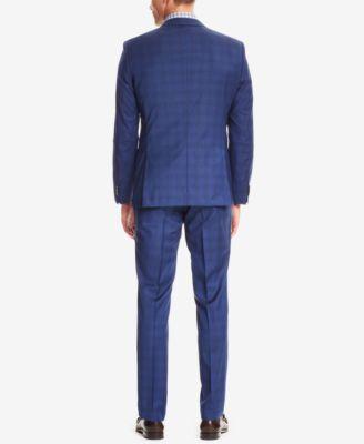 BOSS Mens Slim-Fit Stretch Suit