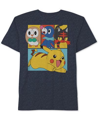 Pok Mon Graphic Print T Shirt Little Boys 2 7 Kids