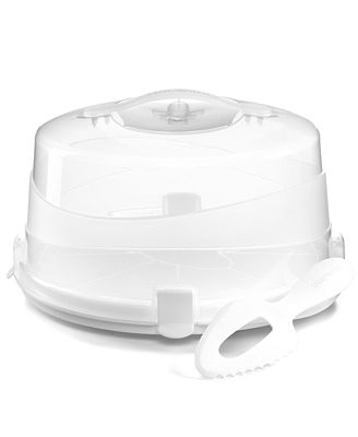 Martha Stewart Collection Round Cake Carrier Bakeware