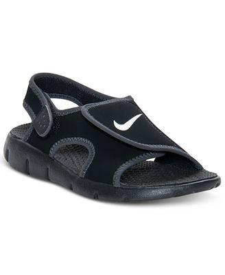Nike Kids Shoes, Boys Sunray Adjust 4 Velcro® Sandals ...