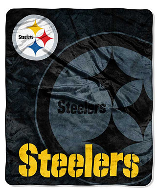 Northwest Company Pittsburgh Steelers Plush Roll Out Throw