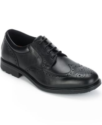 Rockport Mens Essential Details Waterproof Wing Tip Oxfords