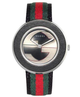 Gucci Womens Swiss U-Play Red Green an..
