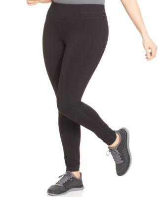 Ideology Plus Size Slimming Leggings, Only at Macy's