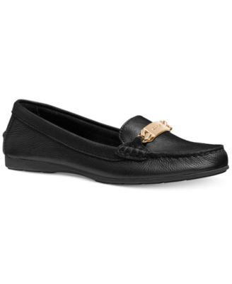 COACH Olive Loafer Flats