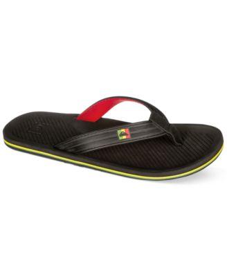 Quiksilver Mens Haleiwa Deluxe Thong Sandals