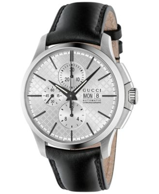 Gucci Mens Swiss Automatic Chronograph..