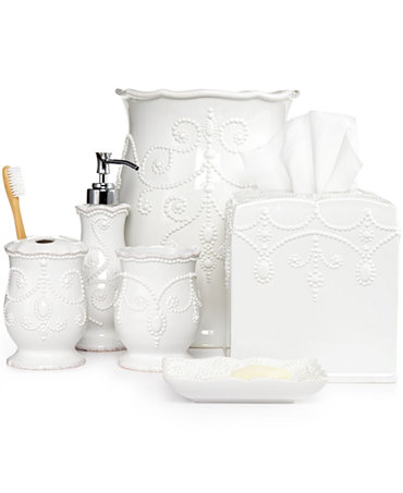 Lenox Bath Accessories French Perle Collection Bathroom