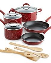 Martha Stewart Collection 12-Piece Speckle Cookware Set