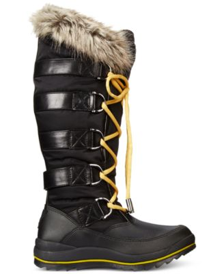 GUESS Womens Hadly Lace-Up Cold Weathe..