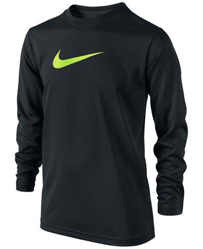 Nike Boys 39 Long Sleeve Legend T Shirt Shirts Tees