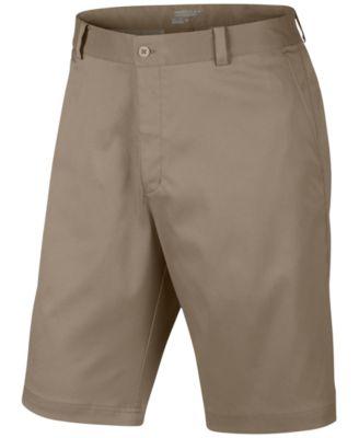 Nike Mens Flat-Front Dri-Fit Golf Shorts