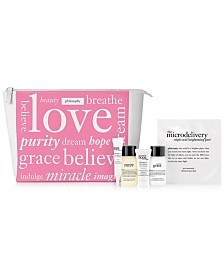 Receive a free 6-piece bonus gift with your $40 philosophy purchase