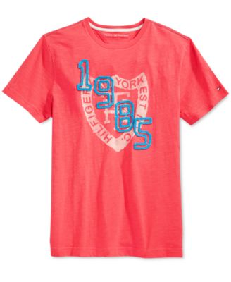 Tommy Hilfiger Big and Tall Mens Hashmark T-Shirt
