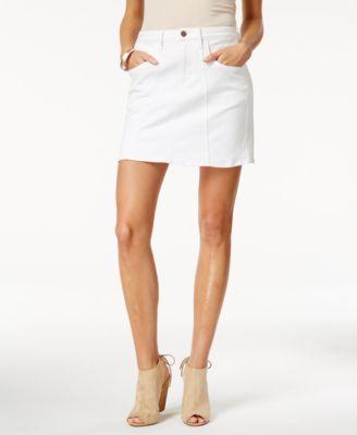 Buffalo David Bitton Caprice White Wash Skirt