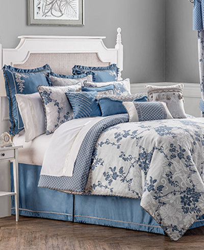 waterford charlotte king comforter set bedding collections bed bath macy 39 s. Black Bedroom Furniture Sets. Home Design Ideas