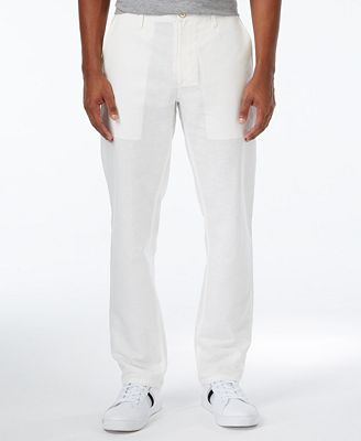 Sean John Men's Lightweight Linen Pants - Men - Macy's