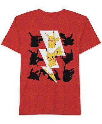 Pokemon Little Boys 39 Pikachu Bolt T Shirt Shirts Tees