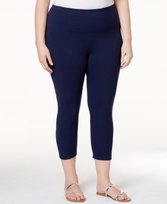 Style & Co. Plus Size Capri Leggings, Only at Macy's