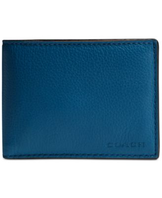COACH Men's Boxed Slim Billfold Wallet in Sport Calf Leather