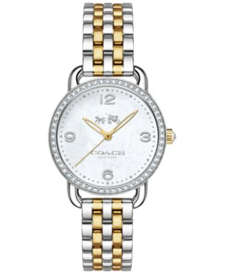 COACH Women's Delancey Two-Tone Stainless Steel Bracelet Watch 28mm 14502480