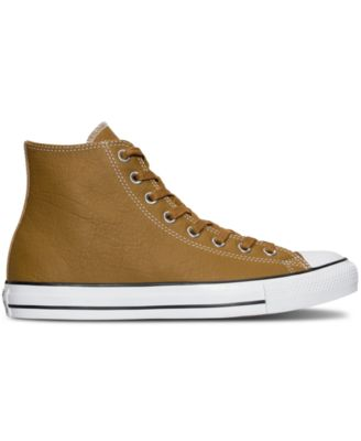 Converse Mens Chuck Taylor All Star Hi Seasonal Leather Casual Sneakers from Finish Line