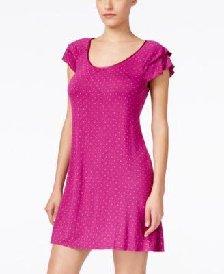 Alfani Flutter-Sleeve Nightgown
