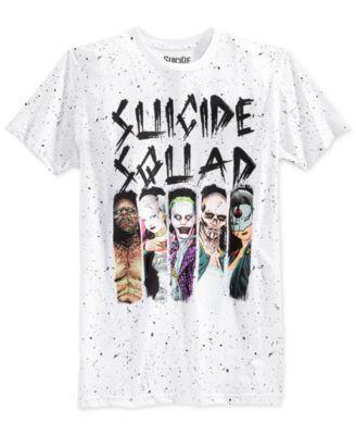 Bioworld Mens Suicide Squad Splatter G..