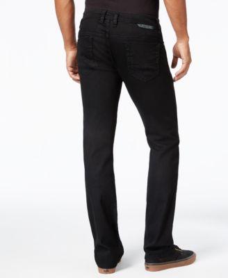 Diesel Mens Safado Z886 Straight-Fit Black Jeans