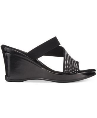 Onex Savannah Embellished Platform Wedge Sandals