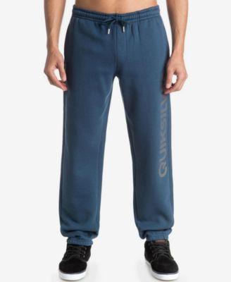 Quiksilver Mens Graphic-Print Track Pants