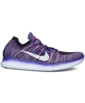 Nike Womens Free RN Flyknit Running Sneakers from Finish Line