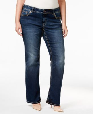 American Rag Trendy Plus Size Betsy Wash Bootcut Jeans, Only at Macy's