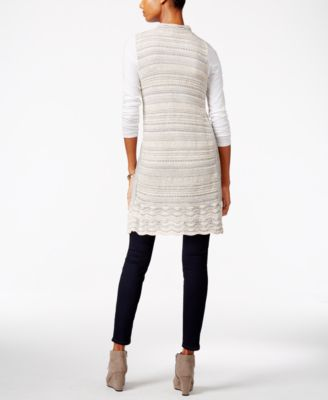 Style & Co. Boucle Sweater Vest