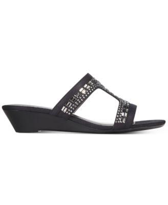 Karen Scott Seryne Demi-Wedge Sandals