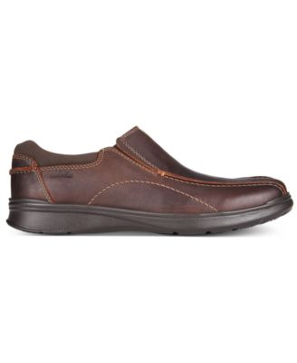 Clarks Mens Cotrell Step Bike Toe Casual Slip-Ons