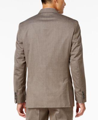 INC International Concepts Mens Gabriel Check Suit Jacket